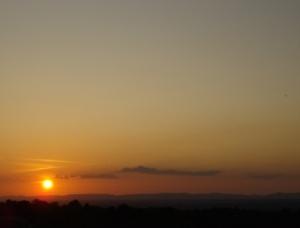 Sonnenuntergang, Foto: Sabine Moosmann / pixelio.de