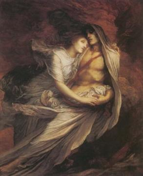 George Frederic Watts: Paolo und Francesca (1872-1875 (?))