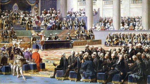 Auguste Couder: Eröffnung der Generalstände am 5. Mai 1789 (1839)